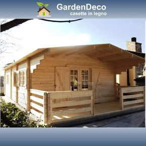 Photo of Bungalow in prefabricated wood model Typ-2 | Gardendeco