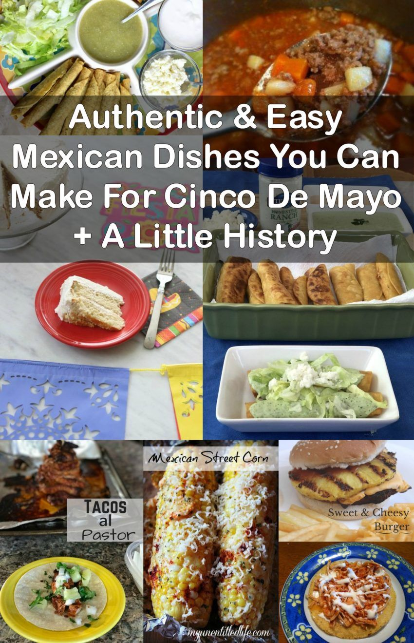 Authentic easy mexican dishes you can make for cinco de mayo a authentic easy mexican dishes you can make for cinco de mayo a little history saving you dinero forumfinder Images