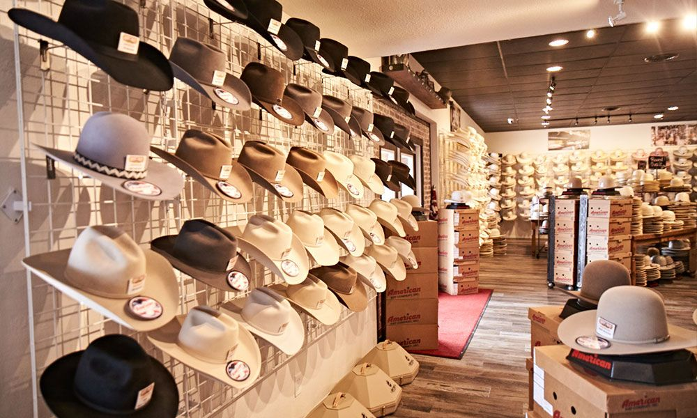 The Best Just Got Even Better Check Out The Remodeled Best Hat Store Hat Stores Hats Cowgirl Hats