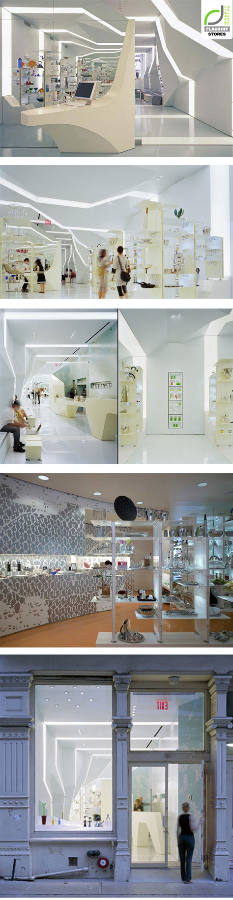Alessi Flagship Store By Asymptote Architecture New York City