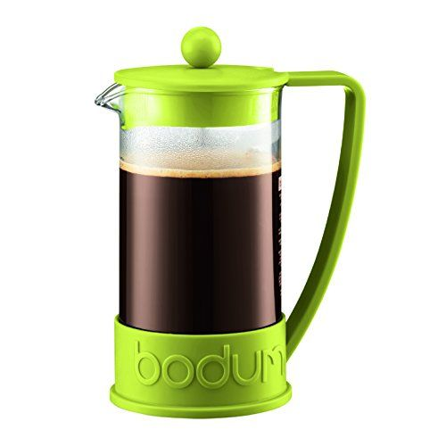 Bodum New Brazil 8cup French Press Coffee Maker 34ounce Green Want To Know More Click On French Press Coffee Maker Camping Coffee Maker Bodum French Press