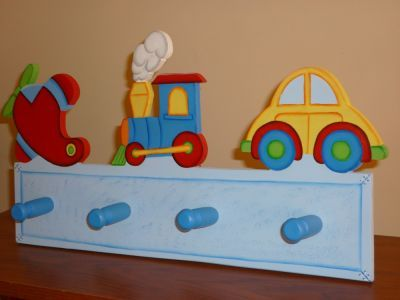 Imaginarte percheros percheros infantiles pinterest - Perchero pared infantil ...