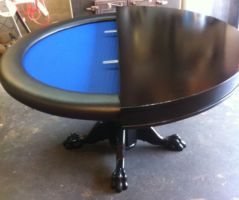 Dining Top W/ Sides U0026 Claw Feet Round Table