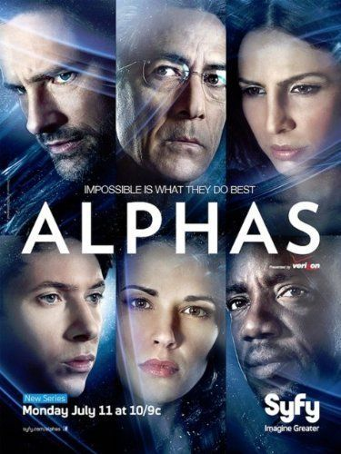 Alphas - The Channel Formally Known as SciFi has made another good scifi show. Must have been accidental.
