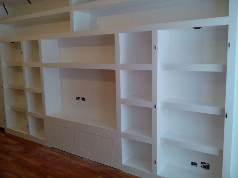 Creazione mobili in cartongesso milano architecture design furniture nel 2019 furniture - Parete mobile in cartongesso ...