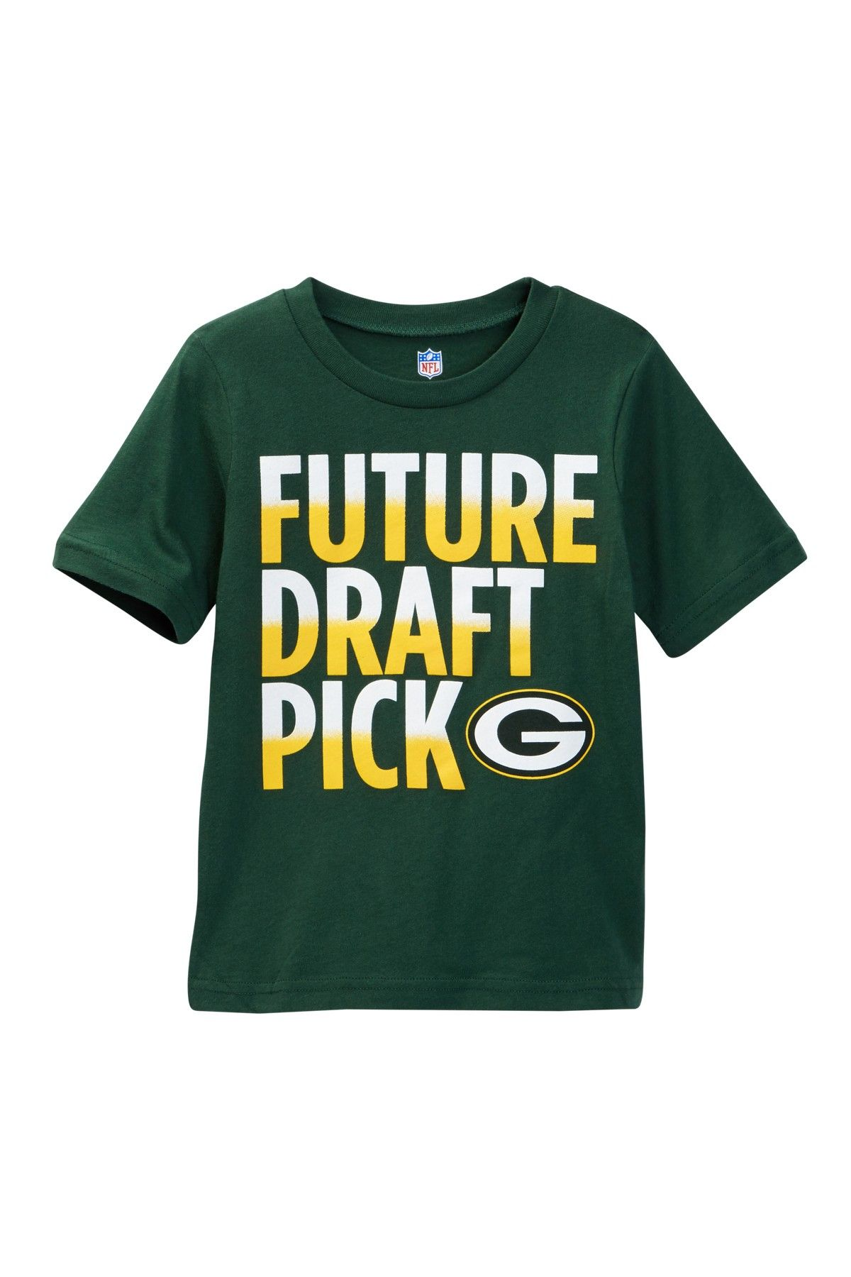 Nfl Green Bay Packers Future Draft Pick Tee Toddler Boys Toddler Boys Nfl Green Bay Boys