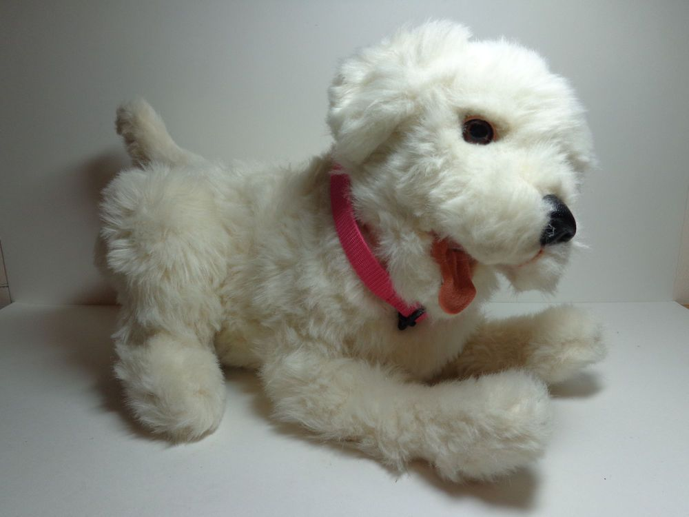 Fur Real Furreal Friends Scamps My Playful Pup White Dog Puppy