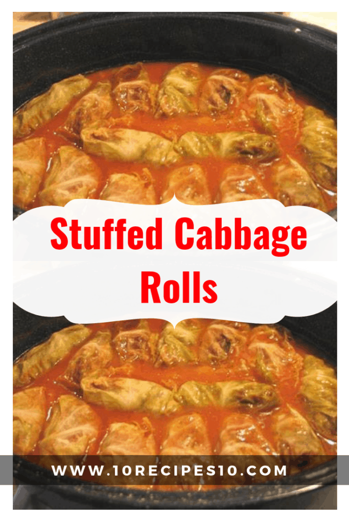 Stuffed Cabbage Rolls One Of Recipe In 2020 Cabbage Rolls Campbell S Tomato Soup Recipes Rice Recipes For Dinner