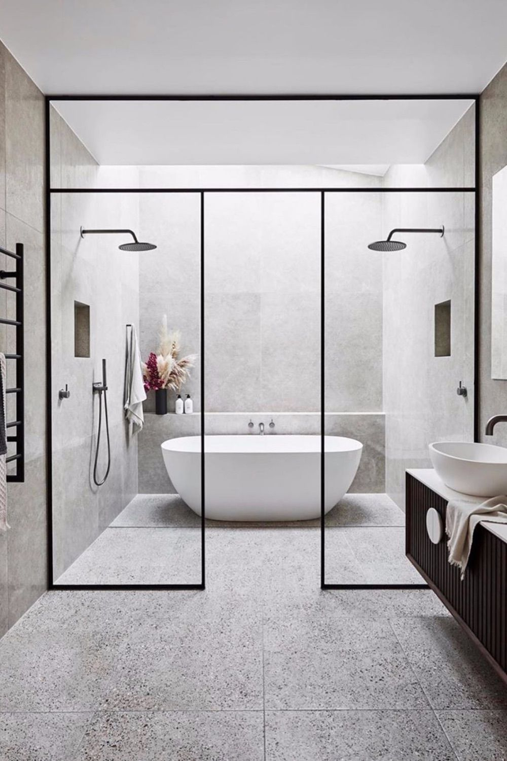 Photo of These Gray Bathroom Ideas Are Total Candy For Your Eyes – SwankyDen.com