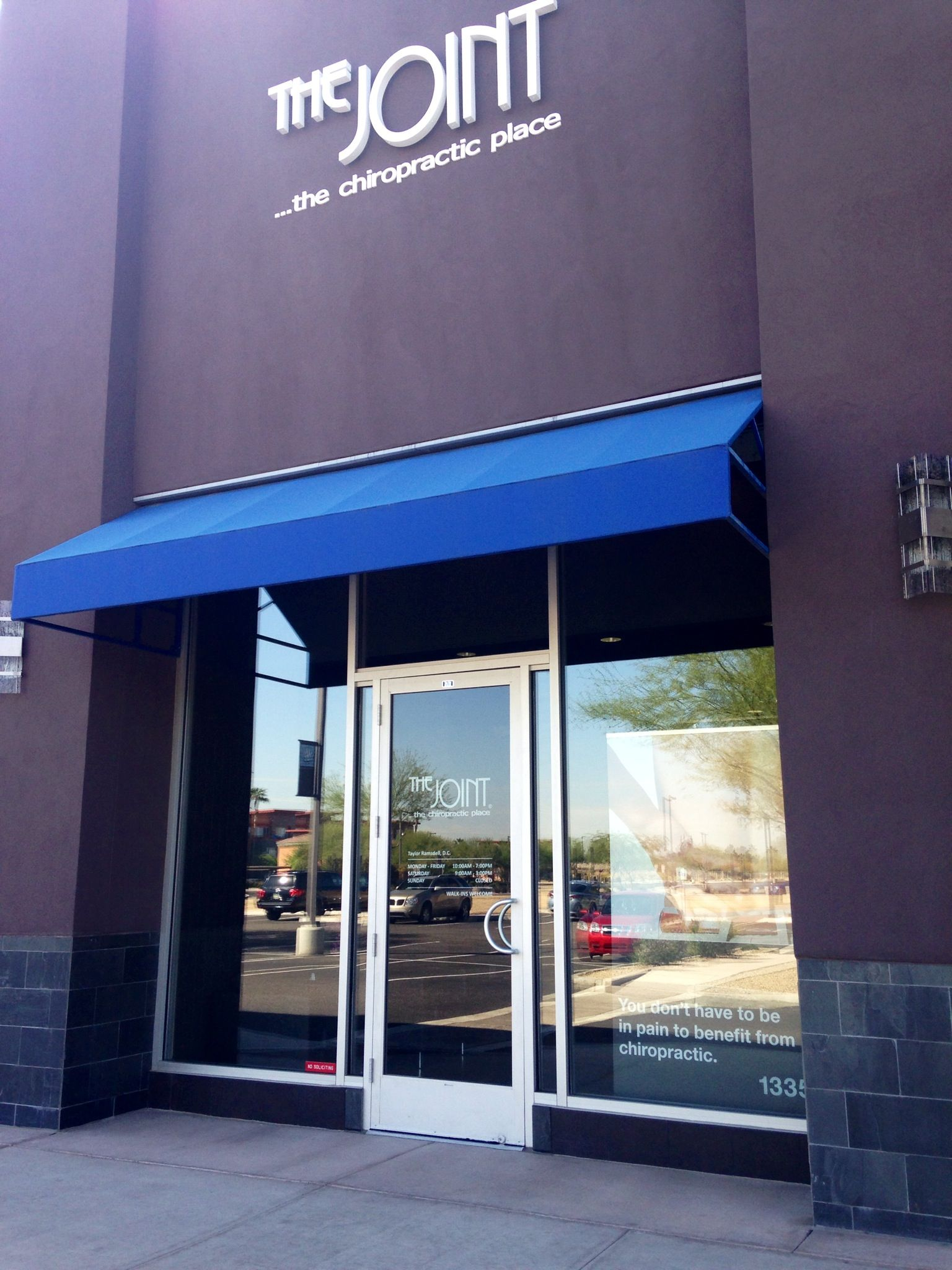 Store Front http://chiropractorphoenix-thejoint.com/introductory-offer/?utm_source=Pinterest.com