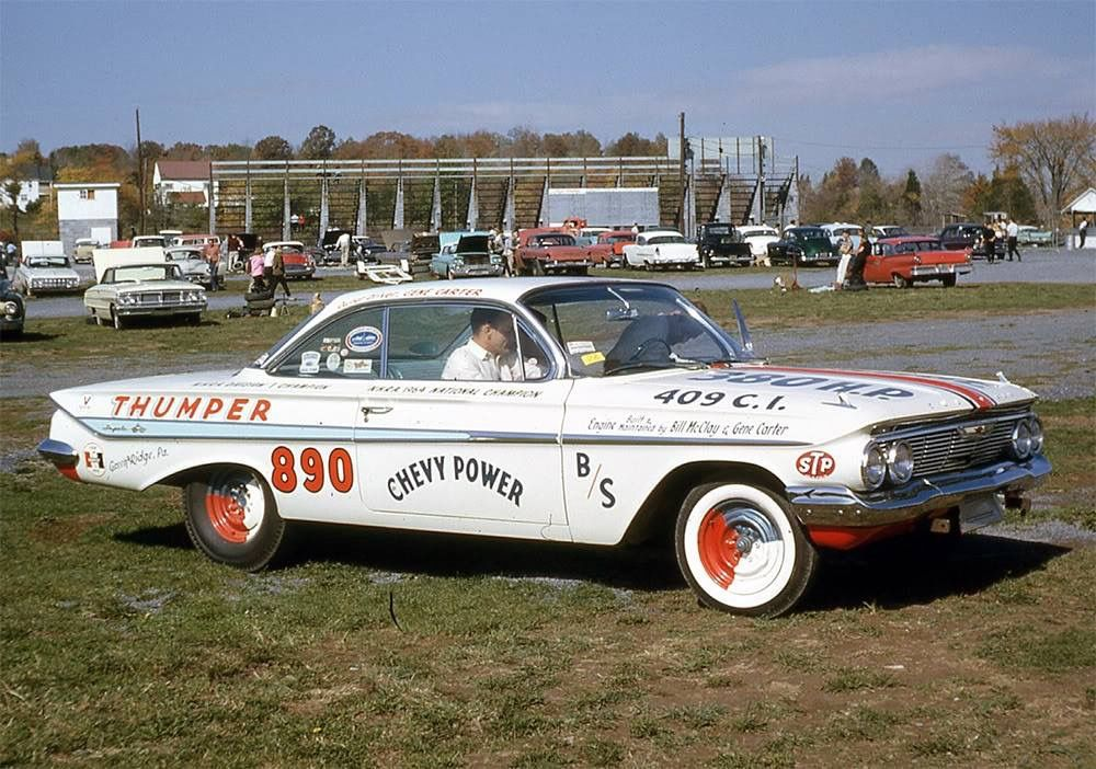 61 Chevy Hot Wheels Garage Drag Racing Cars Chevy