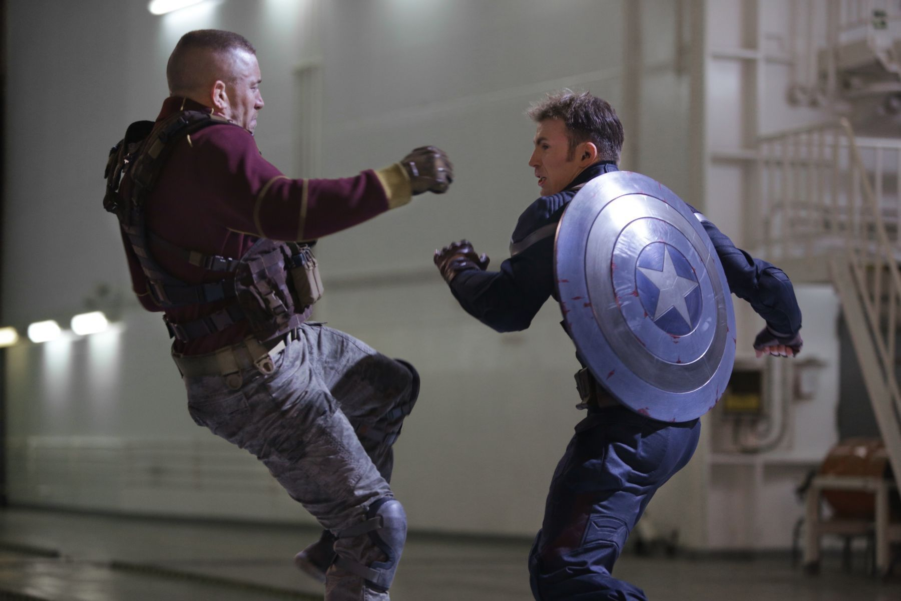Georges Batroc, Steve Rogers || Captain America TWS || 736px ...