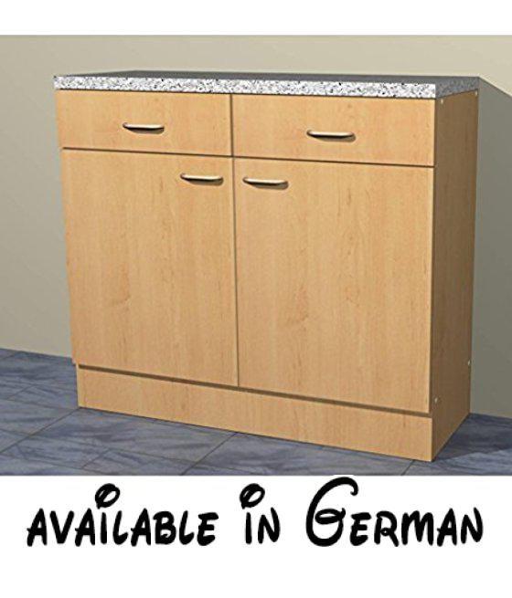 B01C73MH5I : Küchenschrank in verschiedenen breiten Start Melamin ...