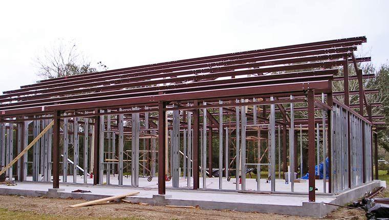 Kodiak Steel Frame Homes Barn Home Pinterest Steel frame