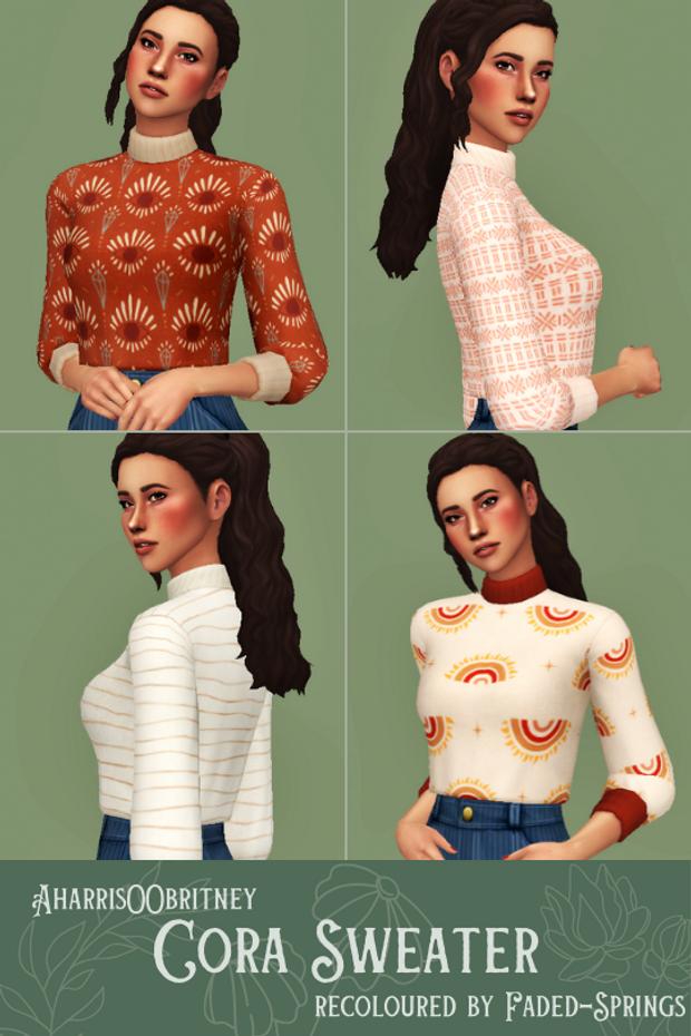 aharris00britney cora sweater recoloured | faded-s