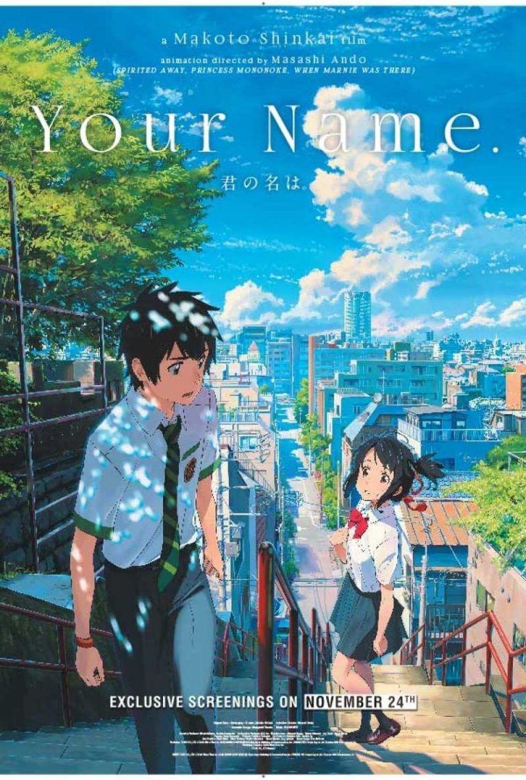 Your Name Kimi No Na Wa Movie Hindi Dubbed Download Your Name Movie Kimi No Na Wa Your Name Anime