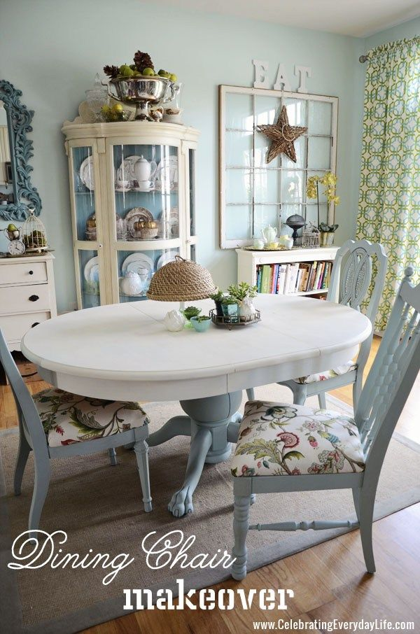 How To Recover A Dining Room Chair Easily Table De Salle A