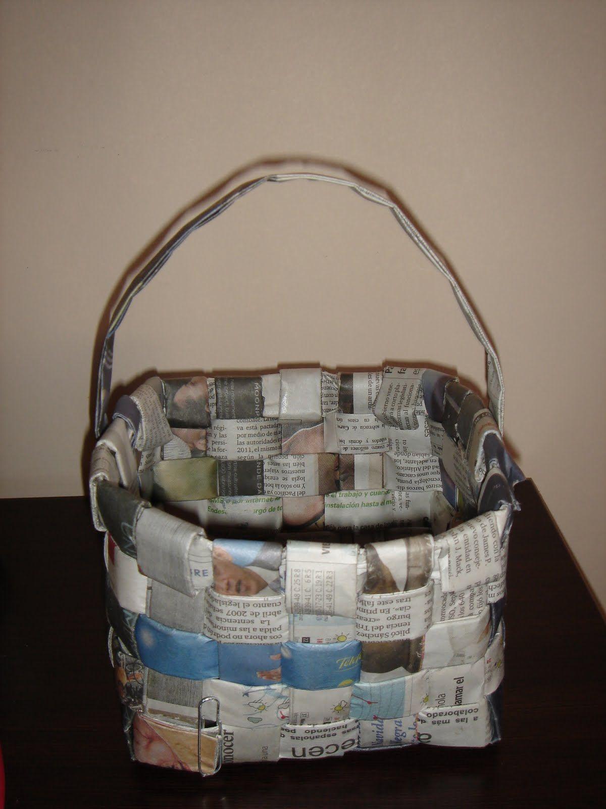 Manualidades con periódicos para descargar y compartir | Fotos o ...