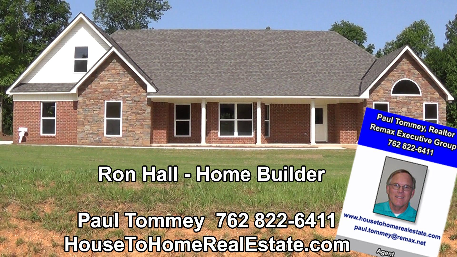 Ronald Hall New home builders Harris County GA and