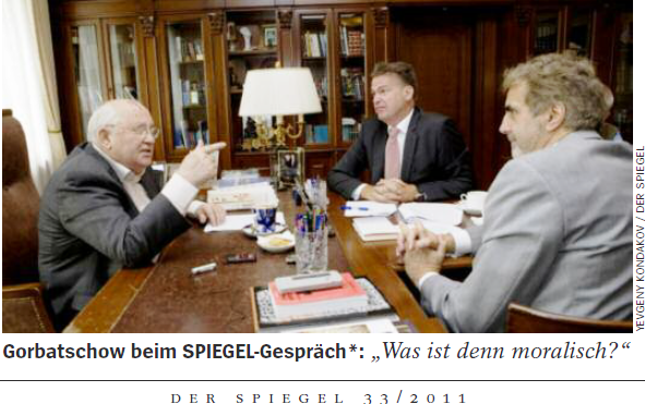 """Russisch Übersetzen und Dolmetschen: Der Spiegel 33 / 2011: """"Es waren wirklich Idioten ..."""