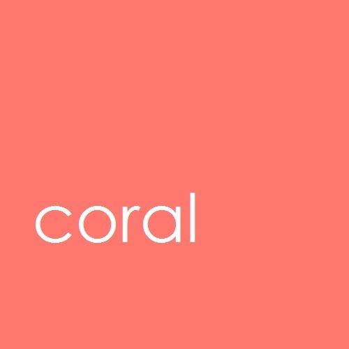 Colors coral