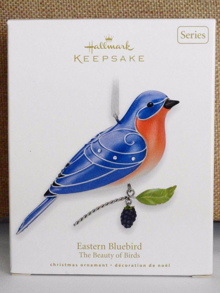 Hallmark The Beauty of Birds Eastern Bluebird Ornament 2010 #6 Series
