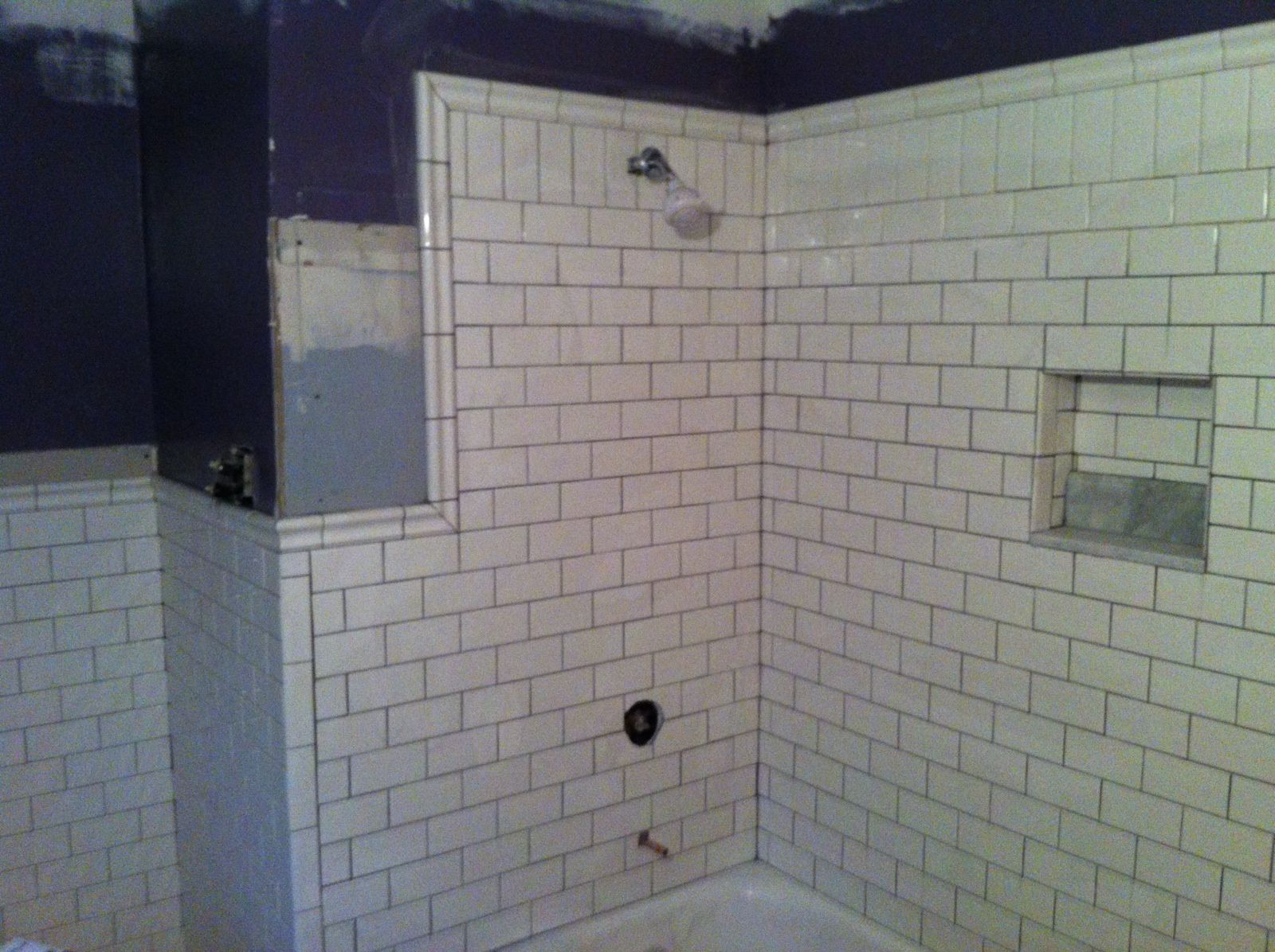 1 Mln Bathroom Tile Ideas Subway Layout Idea For Shower Continuing