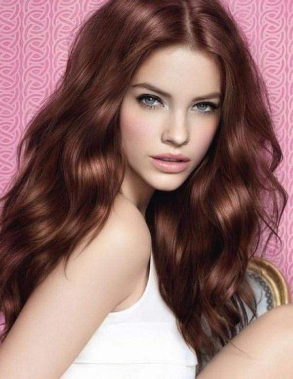 Best Hair Color For Blue Eyes And Olive Skin Hair Color Mahogany