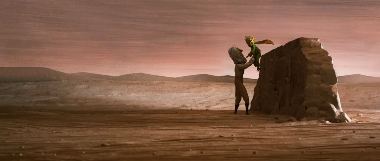 Bombproof Shelter The Little Prince Stop Motion Color Script