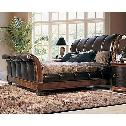 American drew bob mackey classics mahogany and leather - Bob mackie discontinued bedroom furniture ...