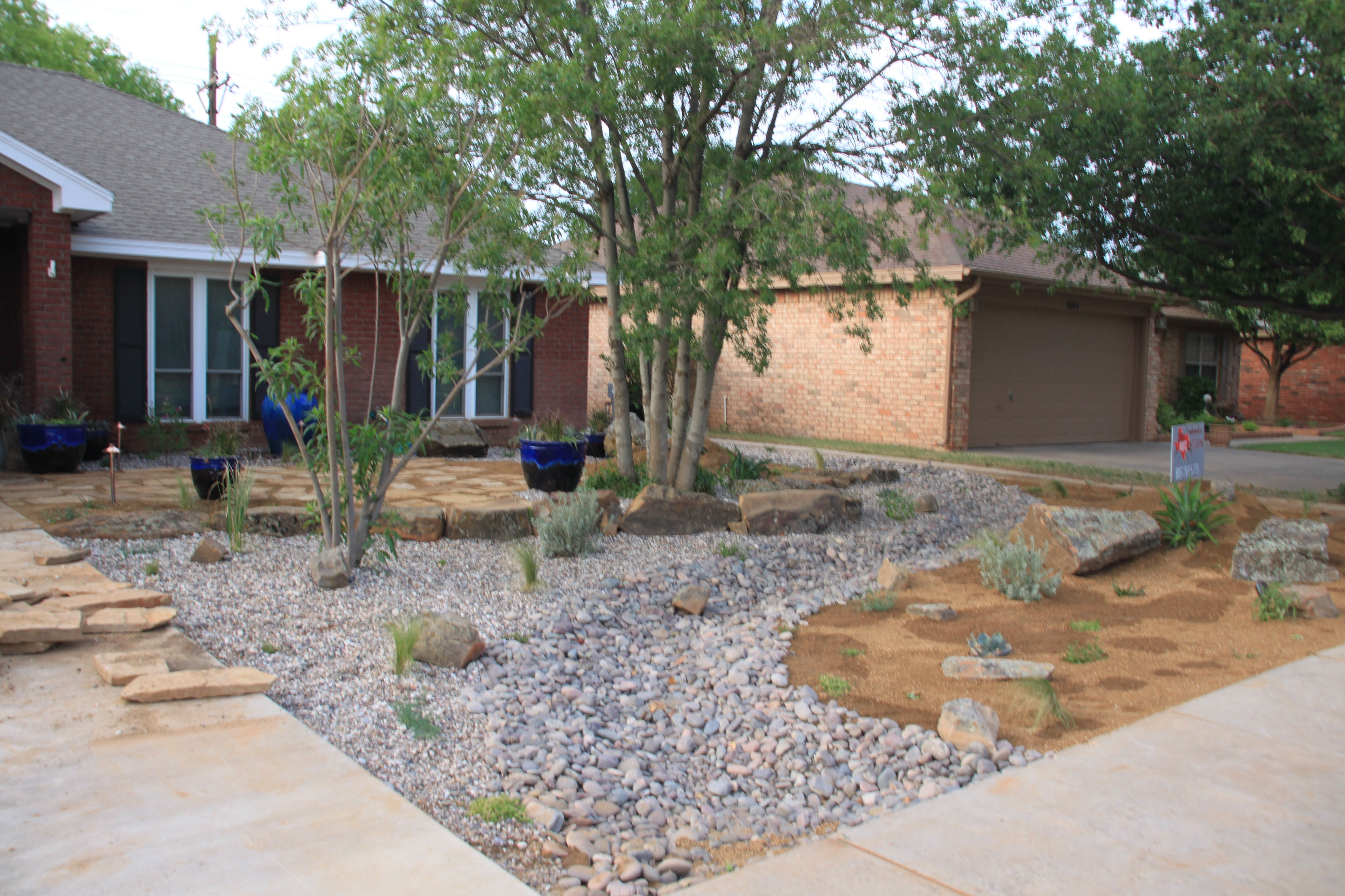 xeriscape xeriscaping front