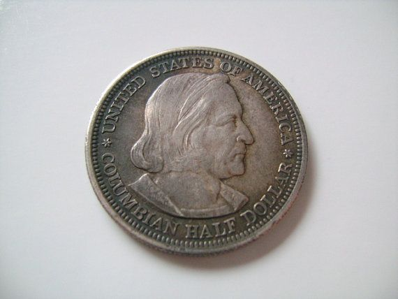 1893 Columbian Exposition Commemorative Half Dollar *90/% SILVER* *FREE SHIPPING*