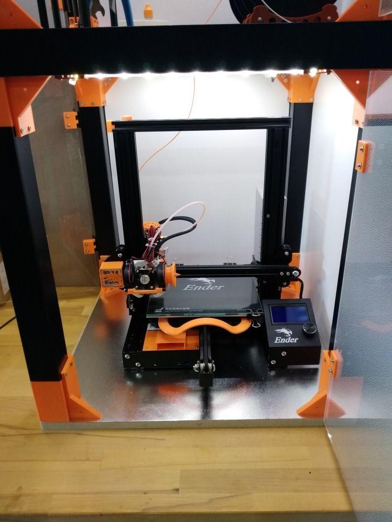 ikea lack 3d printer case
