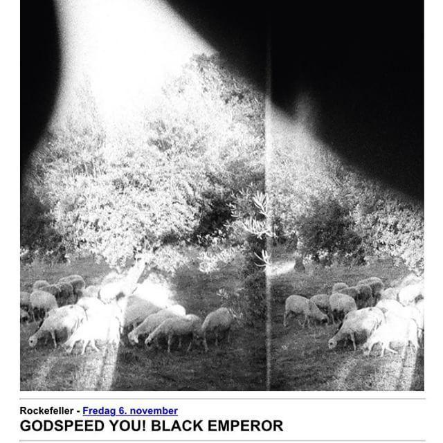 Det er en glede å kunne annonsere at GODSPEED YOU! BLACK EMPEROR kommer til Rockefeller 6.… http://ift.tt/1IYNpEF