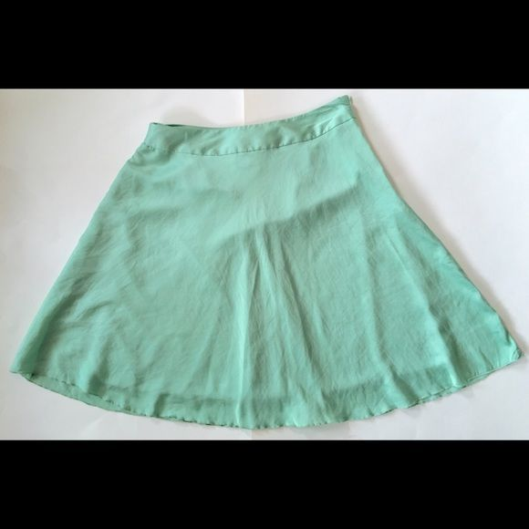 "New The Limited Green Skirt Small Condition: NWT. Retail 59.90. Despite being new, there are some light snags and scratches in the material.  Care: Machine wash cold. Tumble dry low. Waist: 28"" Length: 21""  Smoke free, ferret friendly home The Limited Skirts"