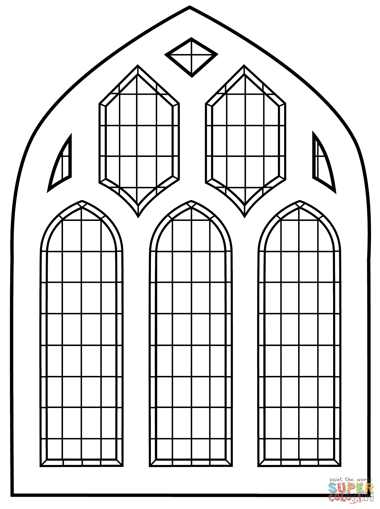 Image Result For Winter Window Pane Coloring Sheet Free Cross Coloring Page Free Printable Coloring Pages Colouring Pages
