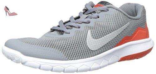 Nike Flex Experience 4 Print (GS) - Zapatillas para Niño, Color Negro, Talla 36