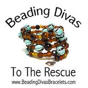 Beading Divas To The Rescue Bracelets by Lizziestardust on Etsy