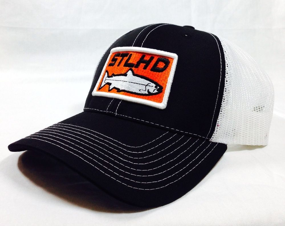 H H Outfitters Stlhd Trucker Get Your H H Outfitter Stlhd Trucker To Go With Your H H Stlhd Tee And H H Stlhd Hoody Show You Hats White And Black Trucker
