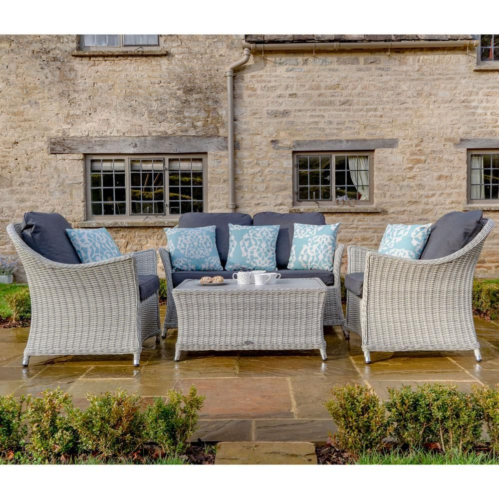 2020 Bramblecrest Monterey 2 Seater Outdoor Sofa Set With Ceramic