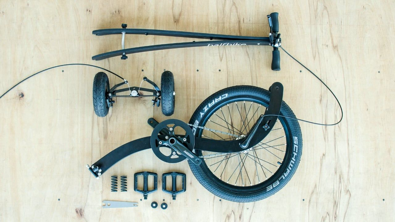 Halfbike assembly video | Cars & motorcycles | Bicycle, Cars
