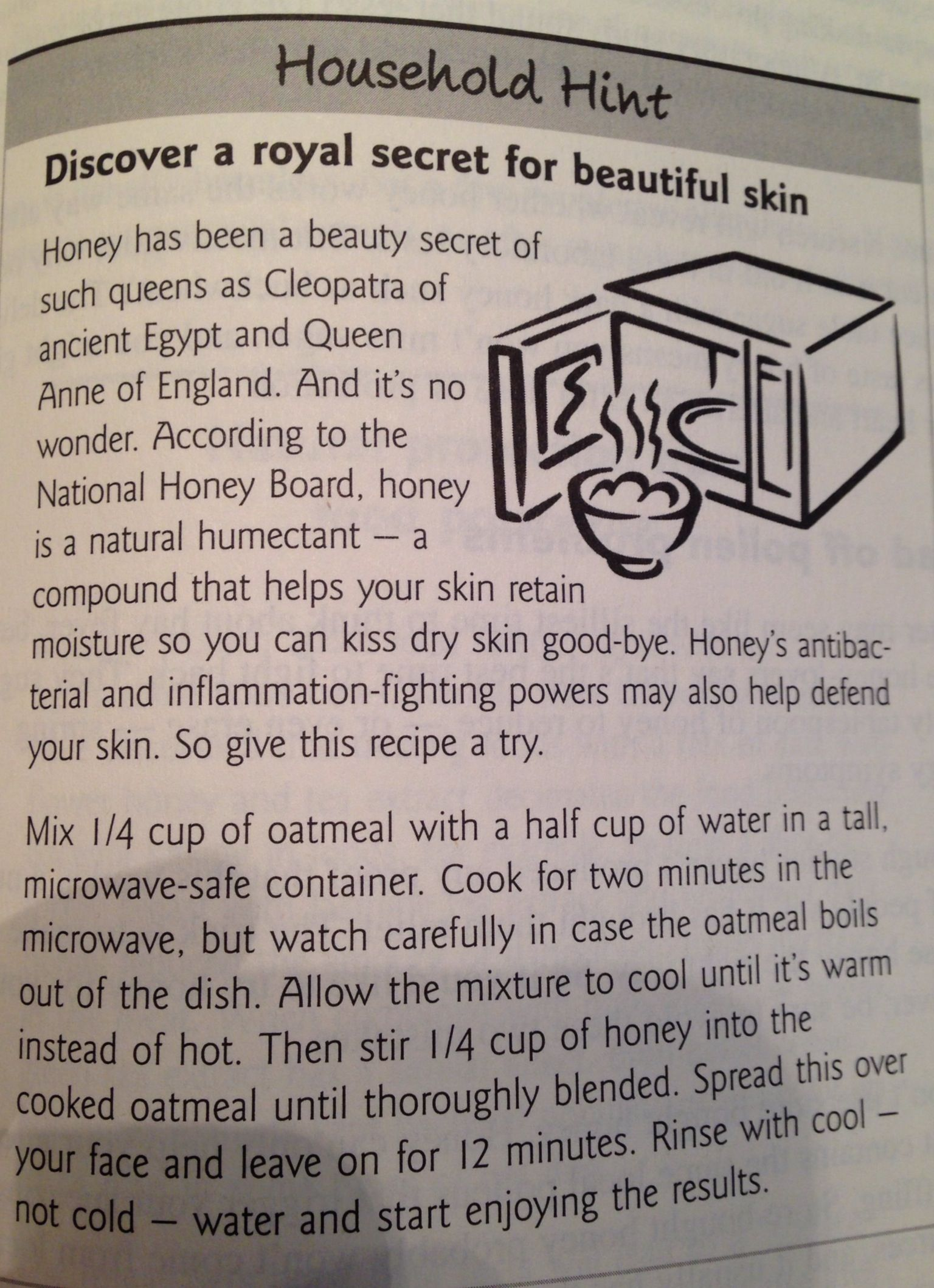 royal secret for beautiful skin - kitchen table book   beauty tips