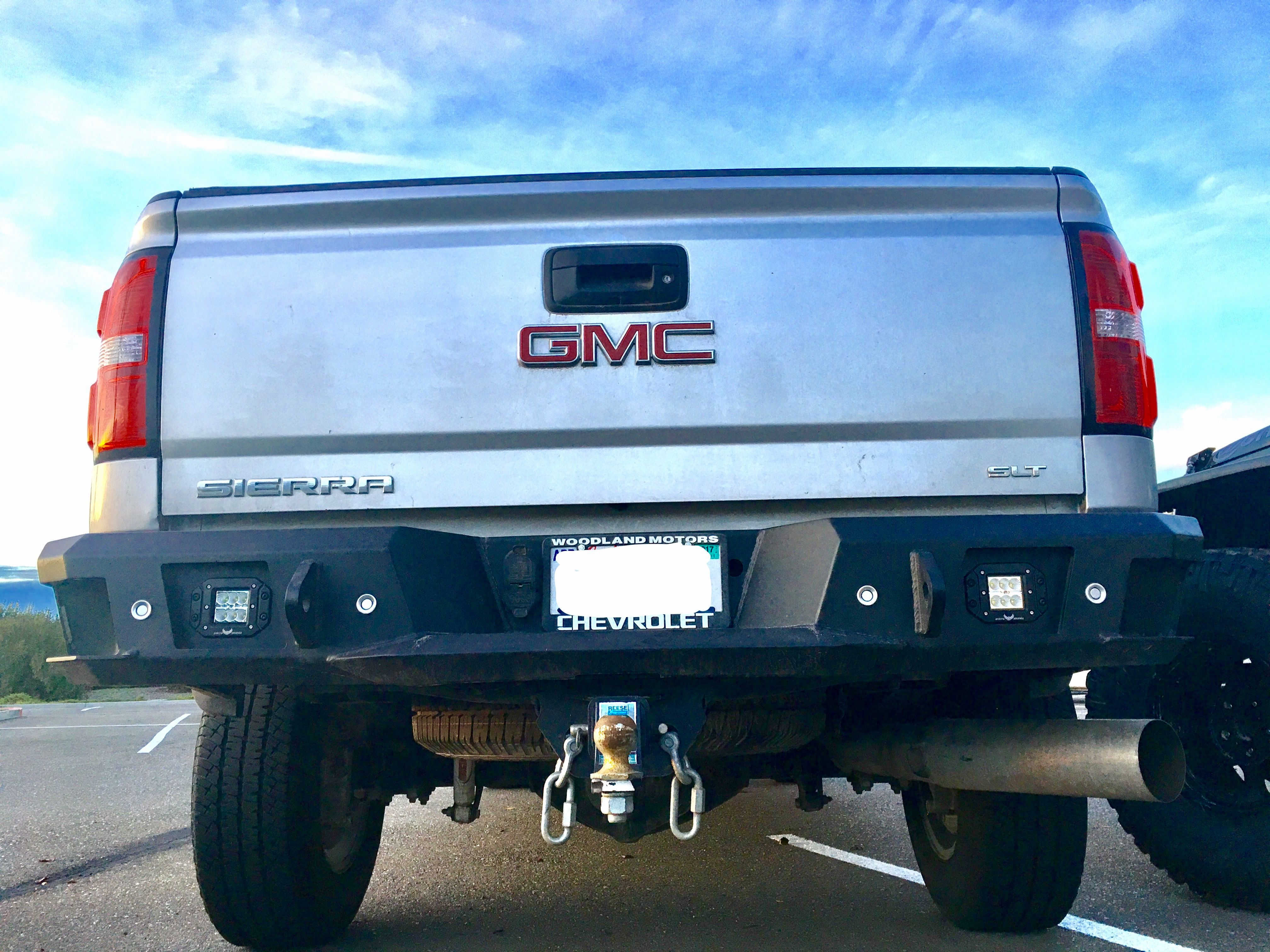 L O D Rear Bumper With Flush Mount Led Pods Gmc Bumpers Chevy
