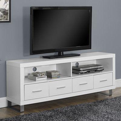 Monarch Specialties Inc Tv Stand Amp Reviews Wayfair