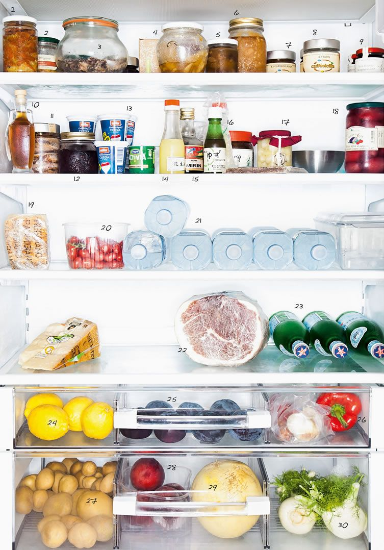 Ever wondered what lies behind the fridge doors of the most esteemed ...