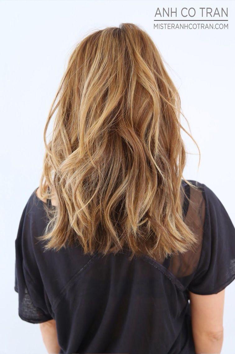 Choppy Layered Haircut Inspiration Hair Styles Long Wavy Haircuts Wavy Haircuts