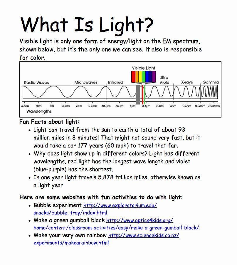 50 Spectrum Worksheet High School in 2020