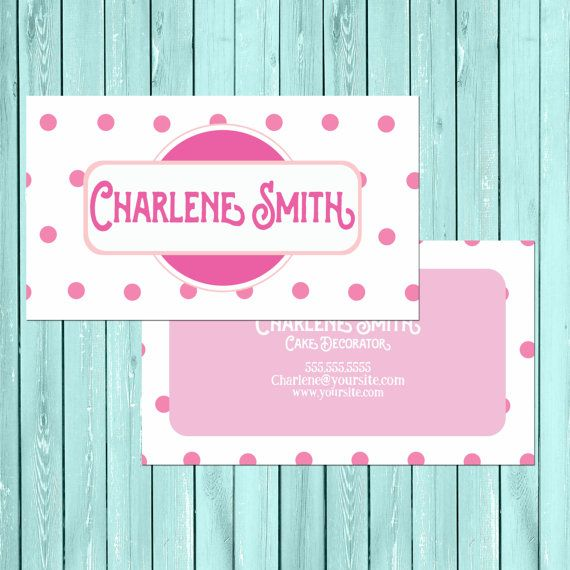 Polka dot business card us standard size 35x2 by ticondesign polka dot business card us standard size 35x2 by ticondesign colourmoves