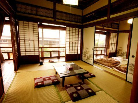 Traditional Japanese House Whole floor of a traditional Japanese