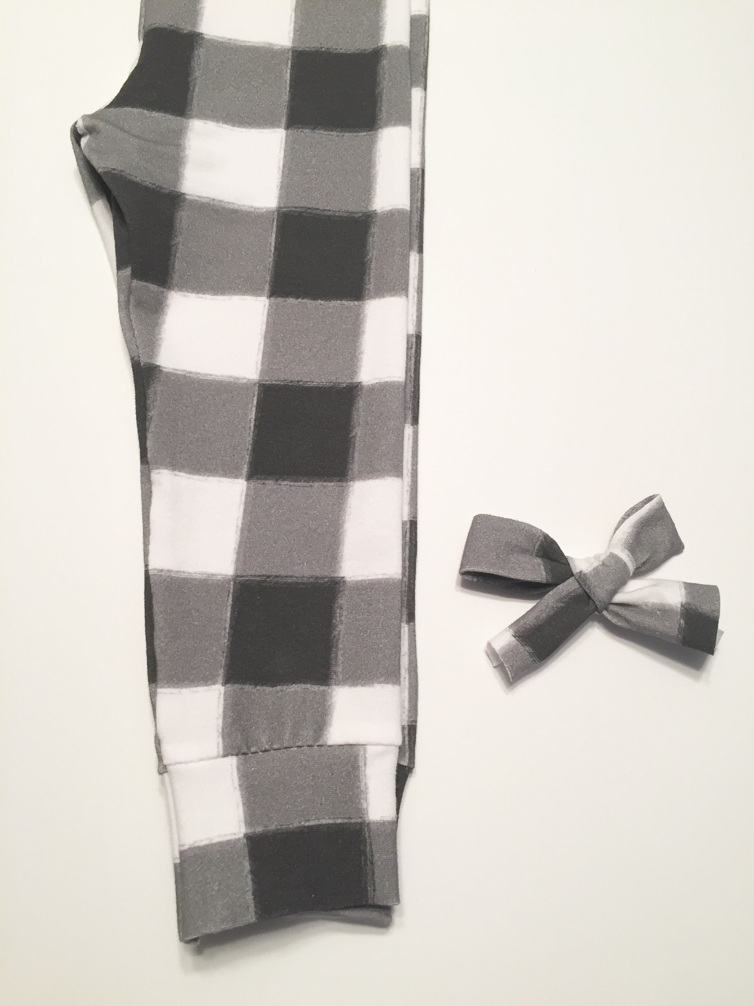Plaid for girls too!